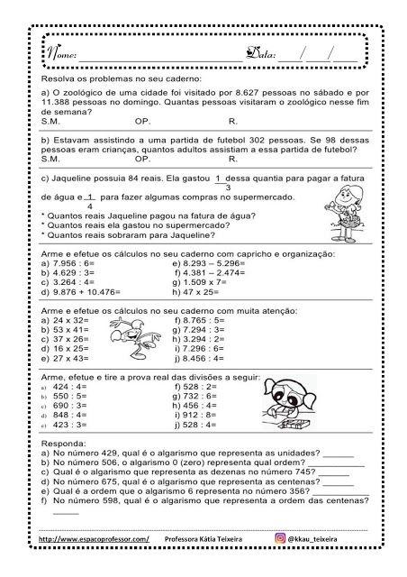 26 Melhor Ideia De Situacoes Problemas Para O 5ano Situacoes Problemas Caderno Pedagogico Atividades De Matematica Divertidas