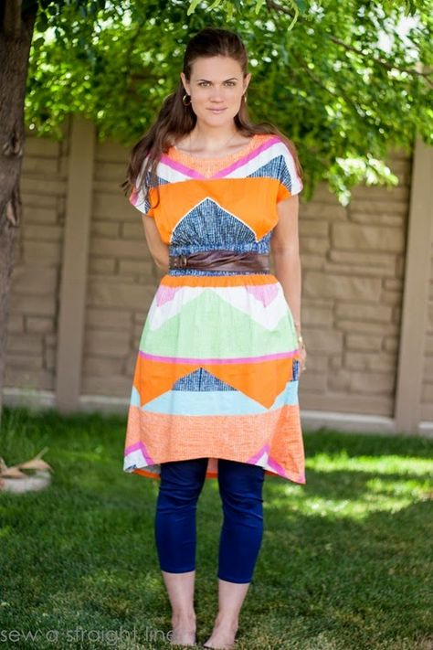 April Rhodes Staple Dress by Sew A Straight Line. Please comment if you have any info about this fabric!