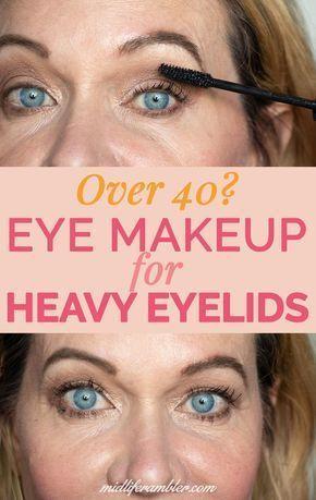 Hooded Eye Makeup Eyelids