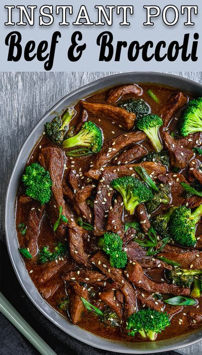 Easy Instant Pot Beef And Broccoli Video Recipe In 2020 Eggless Recipes Best Instant Pot Recipe Instant Pot Beef