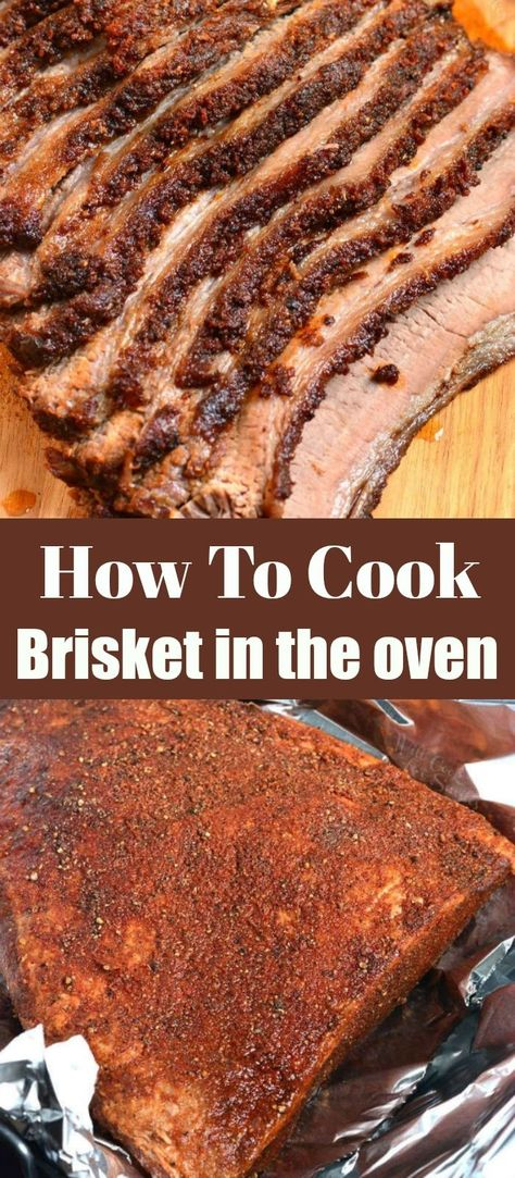 Oven Roasted Brisket, Beef Brisket Oven, How To Cook Brisket, Roast Brisket, How To Cook Beef, Brisket In The Oven, Side Dishes For Brisket, Beef Tenderloin, Roast Beef