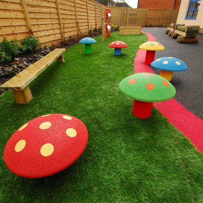 Toadstool Playground Seating In 2020