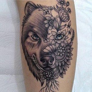 Gambar Tato Batik Serigala Keren Tatuajes De Lobos Tatuaje Vida Mandalas