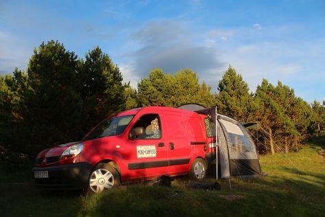 Renault Kangoo Mini Camper with rear tent option #camping Mini - wellmann küchenschränke nachkaufen