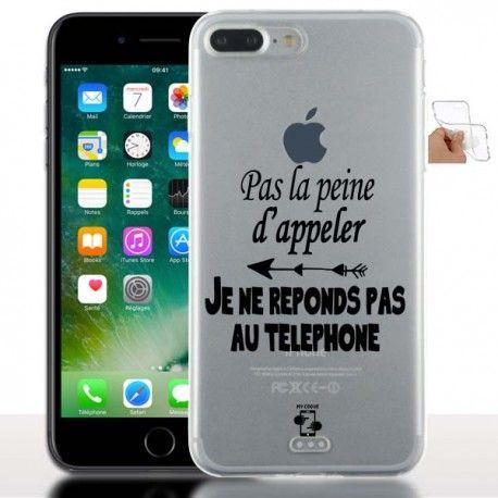 Nouvelle Coque avec message pour iPhone 7 plus | Iphone 7, Iphone ...