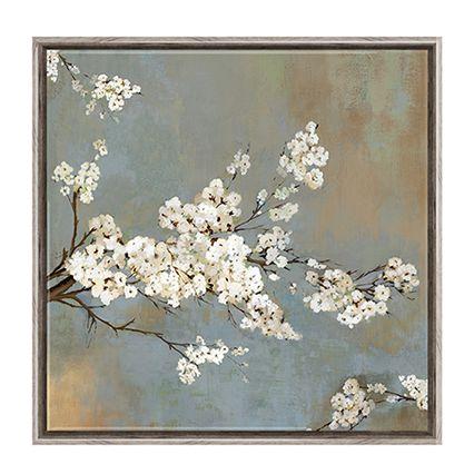 Bianco ciliegio fiori pittura stampe su tela home decor soggiorno ...