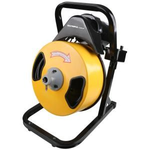 1 2 In X 50 Ft Electric Power Drain Auger Drain Cleaner Electric Power Drain