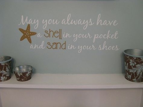 Best Photo Gallery For Website beach theme bathroom love the drift wood behind the mirror misc Pinterest Beach theme bathroom Drift wood and Beach themes