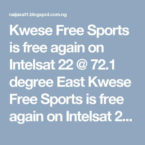 Channels TV, TVC News, WAP TV, Estar, Nigezie are temporary free - 2 1 degree