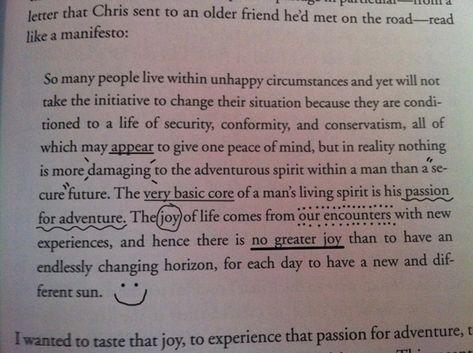 - Chris McCandless