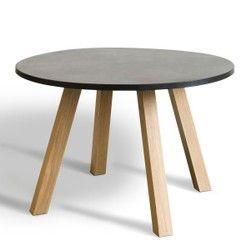 Table Ronde O120 Cm Jacob Pietement Reversible Am Pm Table Salle A Manger Table Salle A Manger Table Ronde Cuisine Modele De Salle A Manger
