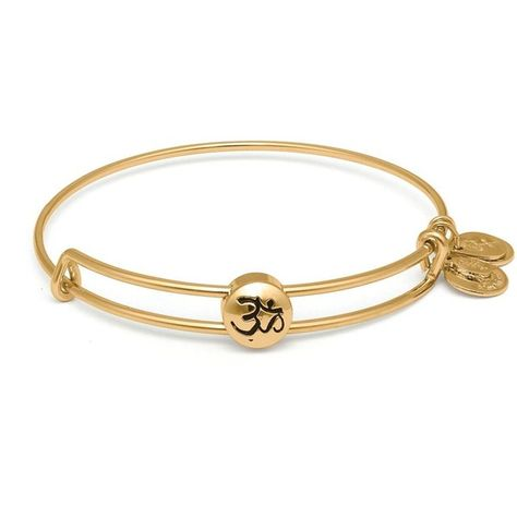 Alex And Ani Sacred Studs Om Bangle But In Russian Silver