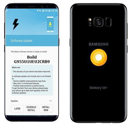 Samsung Galaxy S8 Plus Unlocked USA SM-G955U1 Oreo Firmware Official