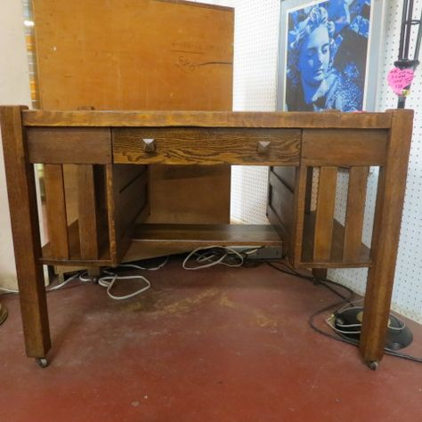 Vintage antique mission oak desk c. 1910 - $250 | Antique Furniture |  Pinterest | Desks and Antique furniture - SOLD. Vintage Antique Mission Oak Desk C. 1910 - $250 Antique