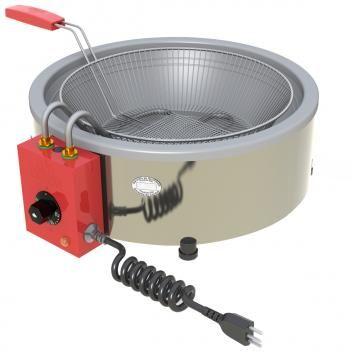 Tacho Fritadeira Eletrica Industrial Progas 7litros Aco Inox 127v