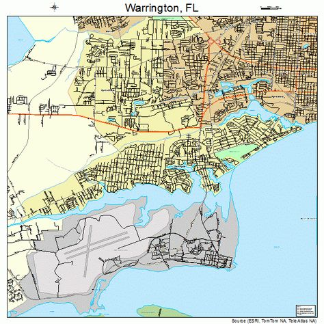 map of warrington fl - Google Search | Lighthouse Kids and Youth ...