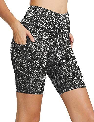 Vertvie Short de Yoga Femme Ete Mode Plage Legging Court Pantalon de Sport Push Up /Élastique Stretch Taille Haute Fitness