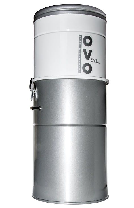 Ovo Powerful Central Vacuum System Heavy Duty Central Vac With Hybrid Filtration 35l Or 9 25gal 700 Airwatts Power Unit Ovo 700st 35h Ovopowerfulcentra