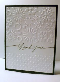 Handcrafted Memories Cuttlebug Folder Cards using the partial embossing technique described in the video tutorial  sc 1 st  Pinterest & Metal Adapter Plates Part 2: Big Shot | Videos | Pinterest | Big ...