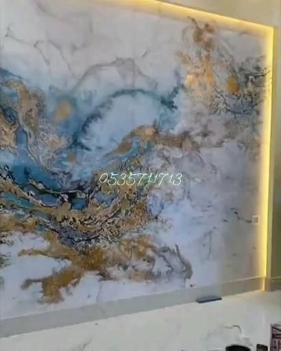 اشكال بديل الرخام الون بديل الرخام ثلاثي الابعاد بديل الرخام 3d بديل الرخام اشكال الرياض 0535711713 Video In 2021 App Pictures Home Room Design Painting