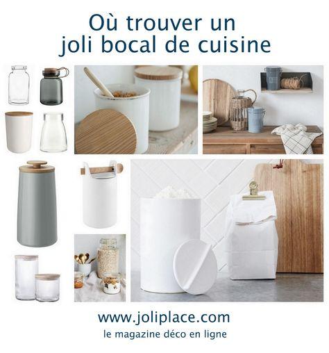 Où trouver un joli bocal de cuisine - JOLI PLACE
