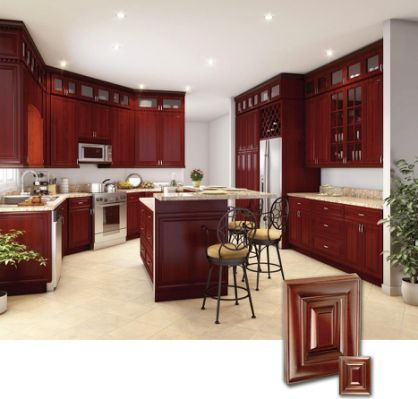 Cherry Kitchen Cabinets This Gallery Includes Gorgeous Cherry Timber Cooking Areas In Mod Cherry Wood Kitchen Cabinets Kitchen Design Cherry Cabinets Kitchen