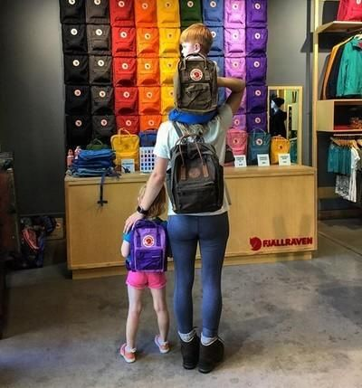 #mykanken takes me to Madison to visit my family! Where will you take yours? #fjallraven #fjallravenkanken #fjallravenmadison #kanken #kankenbackpack #environment #sustainabledesign #nature #hike #adventure #arcticfox