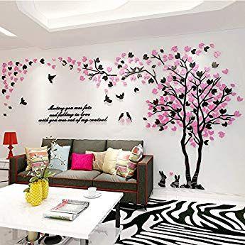 Wall Decals Decomatters Flor Living Dormitorio pegatinas de vinilo