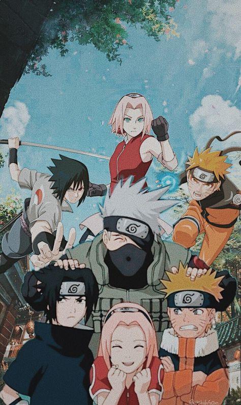 Naruto Shippuden Sasuke, Naruto Kakashi, Anime Naruto, Wallpaper Naruto Shippuden, Naruto Teams, Naruto Cute, Naruto Sasuke Sakura, Anime Guys, Sasuke Sarutobi