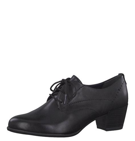Schnürschuhe, Loch Muster, Leder | Schuhe damen