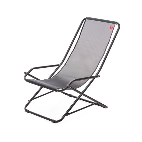 Liegestuhl Dondolina Schwarz Schwarz Liegestuhl Stuhle Und