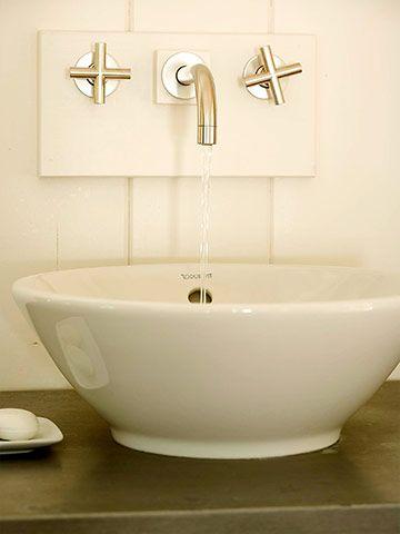 15 Wall Mount Faucets Ideas Wall Mount Faucet Bathrooms Remodel Bathroom Design