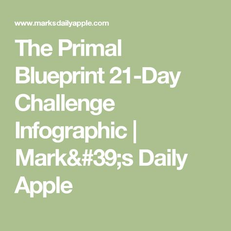 The primal blueprint 21 day challenge infographic challenges the primal blueprint 21 day challenge infographic challenges infographic and the ojays malvernweather Image collections