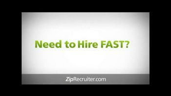 Ziprecruiter Tv Commercial 39 The Smartest Way To Hire 39 Ispot Tv Tv Commercials Hiring Smart