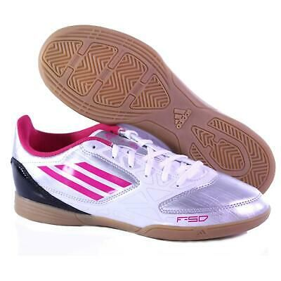 Advertisement Ebay Adidas Women S F5 Indoor Soccer Shoes Size 10 M Silver White Pink Display Model Nike Shoes Women Soccer Shoes Nike Women