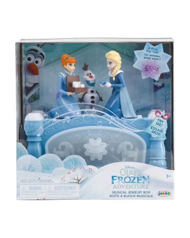 Frozen Olafs Musical Jewelry Box Toys Marshalls Musical Jewelry Box Musical Jewelry Jewelry Box