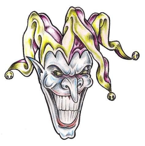 25+ Amazing Jester Tattoo Designs