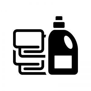 柔軟剤 ランドリー 洗濯 ファブリック シール 収納 柔軟剤 柔軟