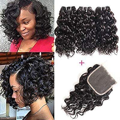 Amazon Com Yami 8a Brazilian Human Hair Bundles Water Wave