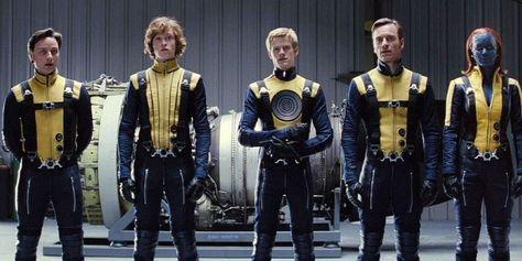 X Men First Class Recruits Jpg 700 350 X Men Charles Xavier Planet Of The Apes