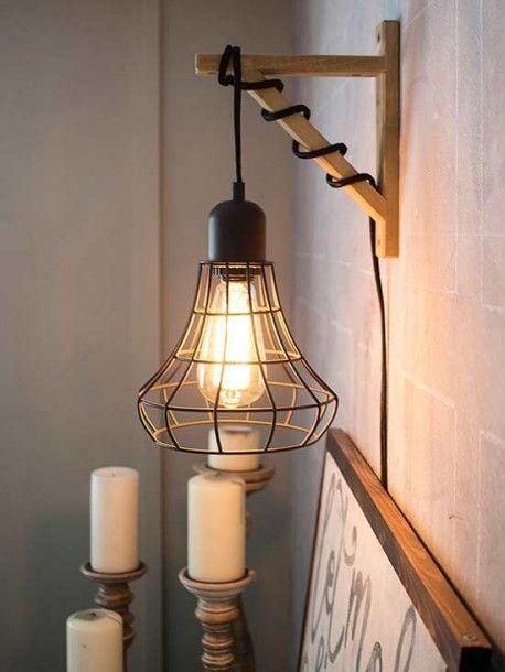 Corner Wall Lights For Living Room In 2020 Cage Light Bedroom Ceiling Light Lamp Installation