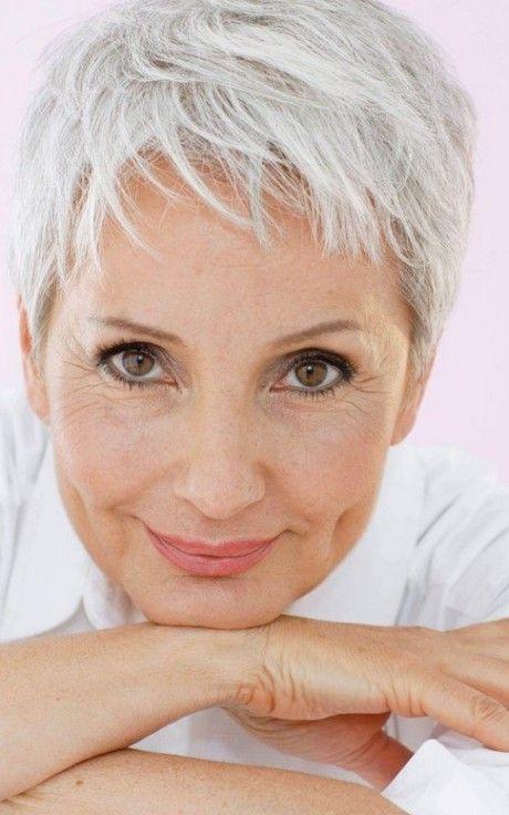 Short Pixie Hairstyles For Older Women Short Grey Hair Older Women Hairstyles Short Hair Styles