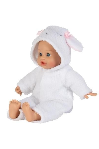 A Baby S 1st Baby Doll The Funsie Onesie Baby Doll In Lamb