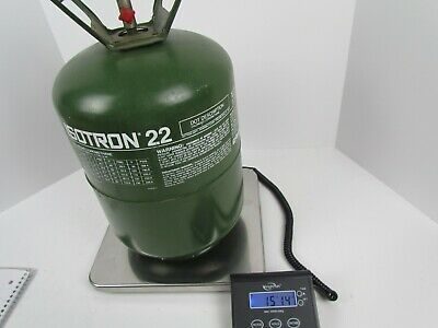 Isotron R22 Virgin Refrigerant Gross Weight 15 Lbs 14 Oz In Partial 30 Lb Tank 1 Ebay In 2020 Ebay Weight Partial