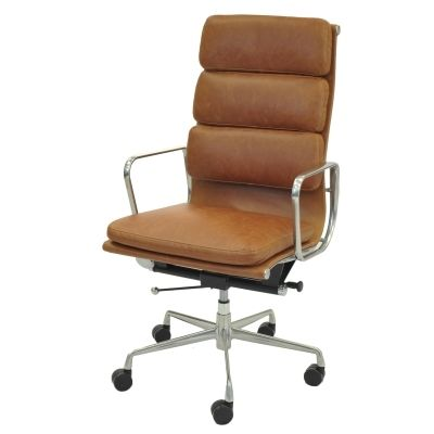 Chandel Pu High Back Office Chair Vintage Tawny Tampa Bay