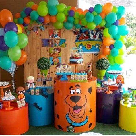 Scooby doo (the balloons!