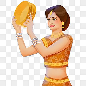 Karwa Chauth Kartika Indian Woman Festival Elements Karwa Chauth Kartika Moon Png Transparent Clipart Image And Psd File For Free Download Indian Women Clipart Images Festival