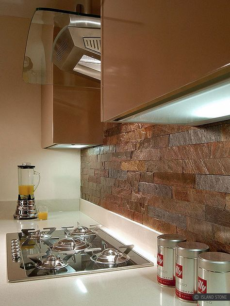 Copper Slate Subway Backsplash Tile Backsplash Com Slate