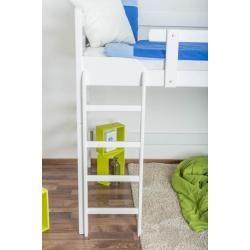 Hochbett Easy Premium Line K15 N Buche Vollholz Massiv Weiss