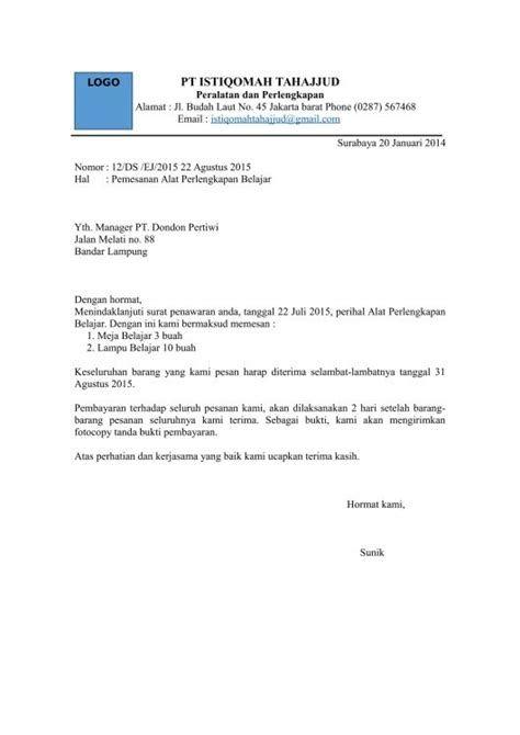 Contoh Surat Penawaran Barang Elektronik Doc Contoh Surat